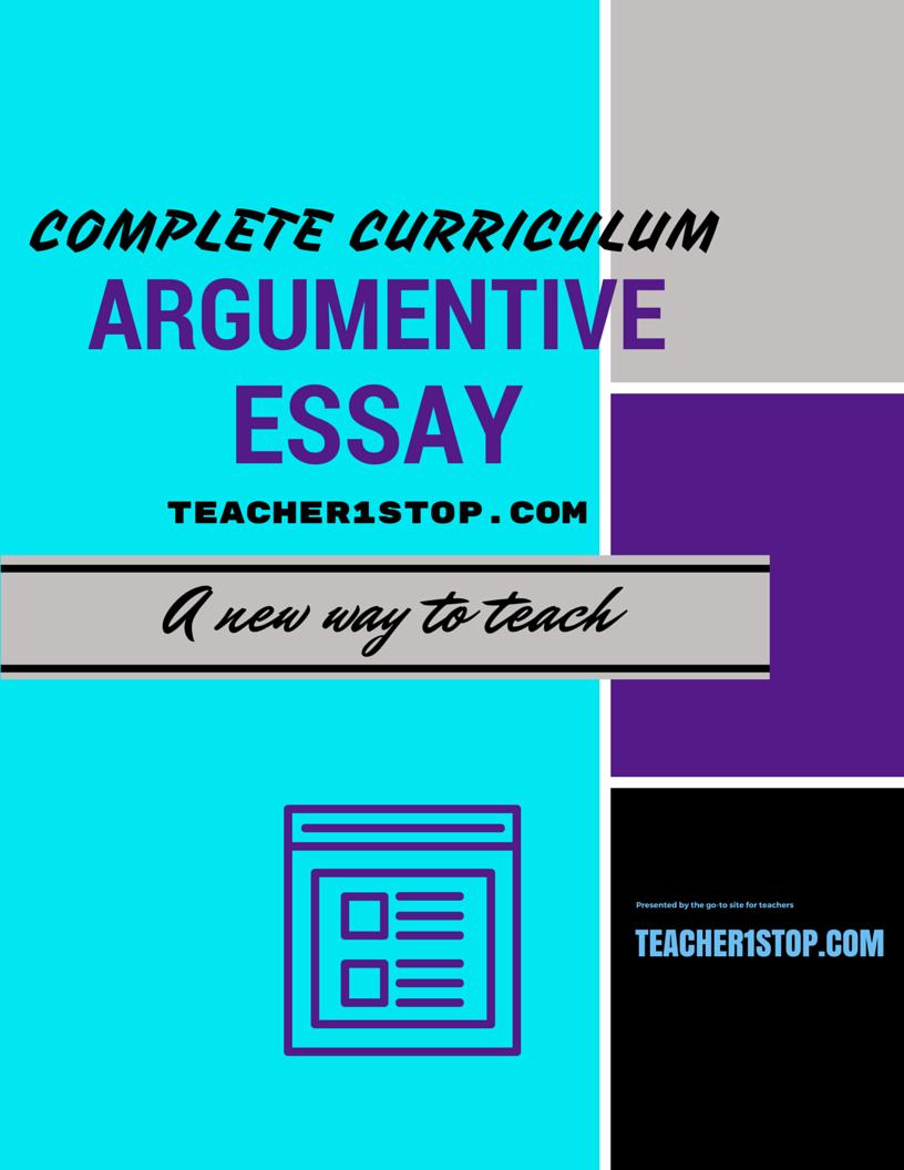 teaching the argumentative essay