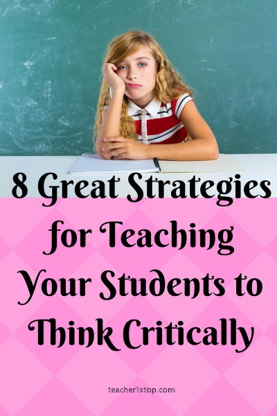 Critical thinking for elementary students