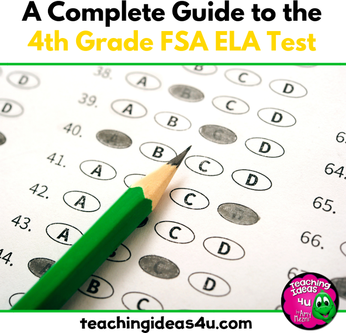 A Free Helpful Guide to the 4th Grade FSA ELA Test