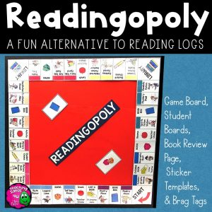 Teaching Ideas 4U - Amy Mezni - READINGOPOLY: Reading Logs & Summer Reading Program 3rd - 7th Grades