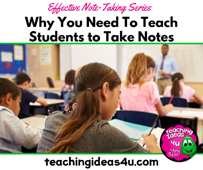 Teaching Students How to Take Notes