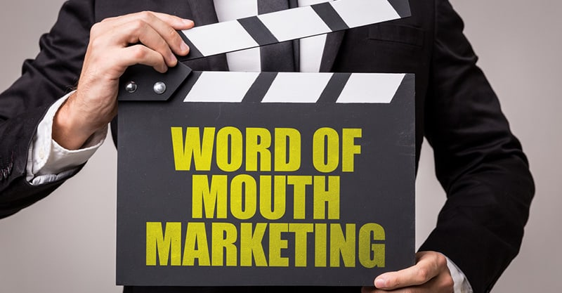 Word of mouth marketing for real estate listings