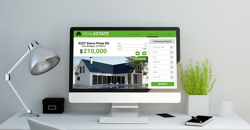 Making the core website for your real estate business