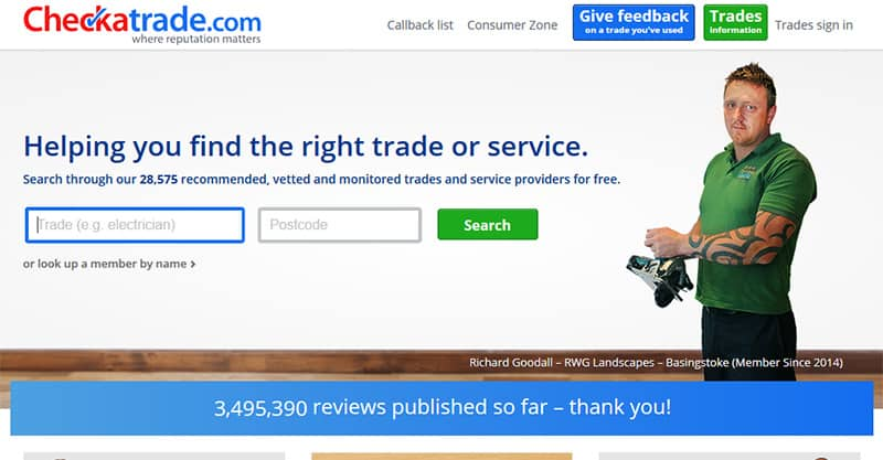 List your plumbing business on trade websites