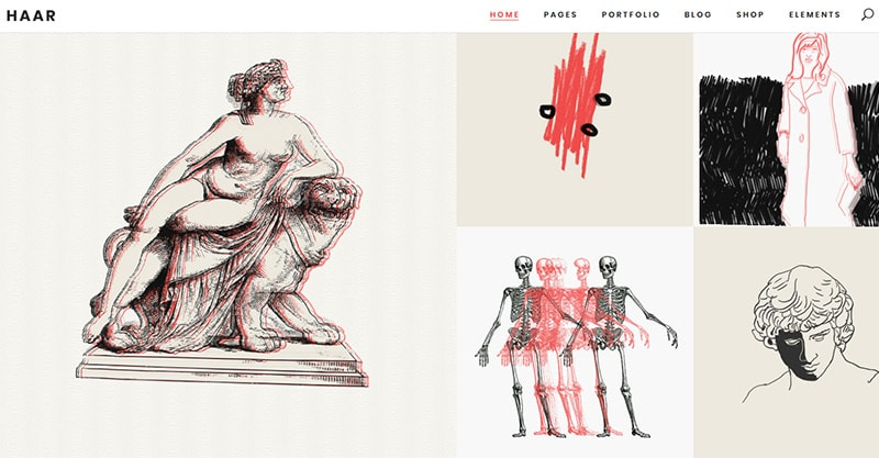 Relevant WordPress Themes For Artists