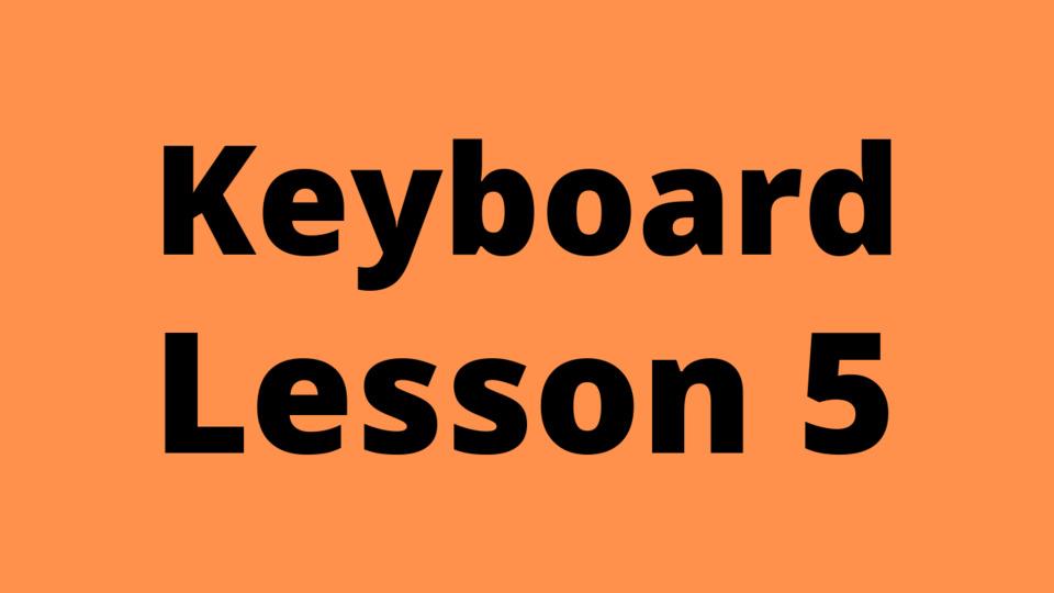 Keyboard Lesson 5: Tivra Swar (Sharp Notes)