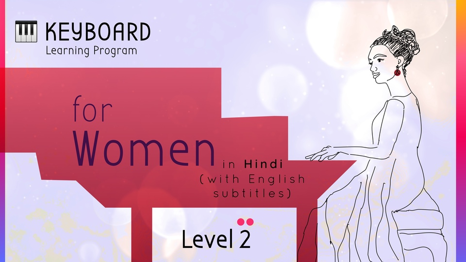 Keyboard Learning Program for Women (Level 2)