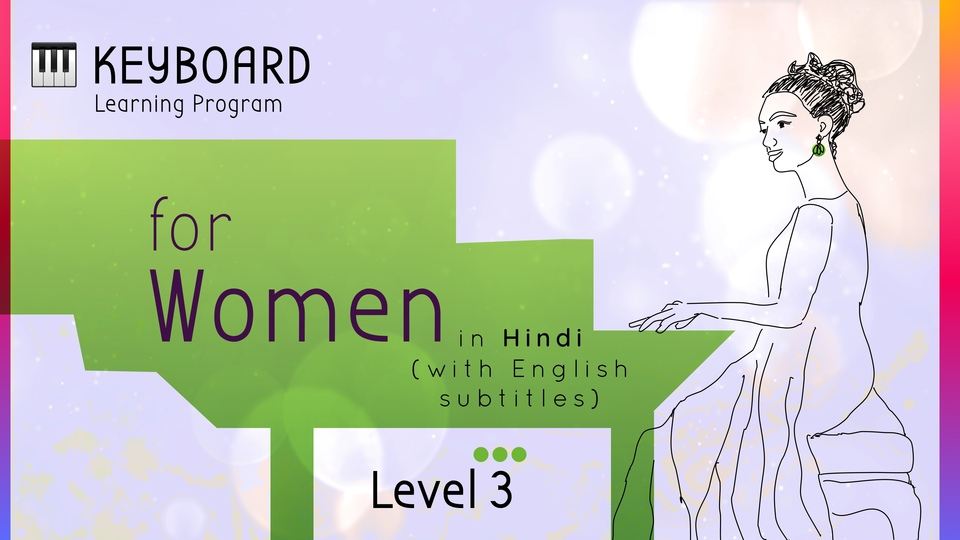 Keyboard Learning Program for Women (Level 3)