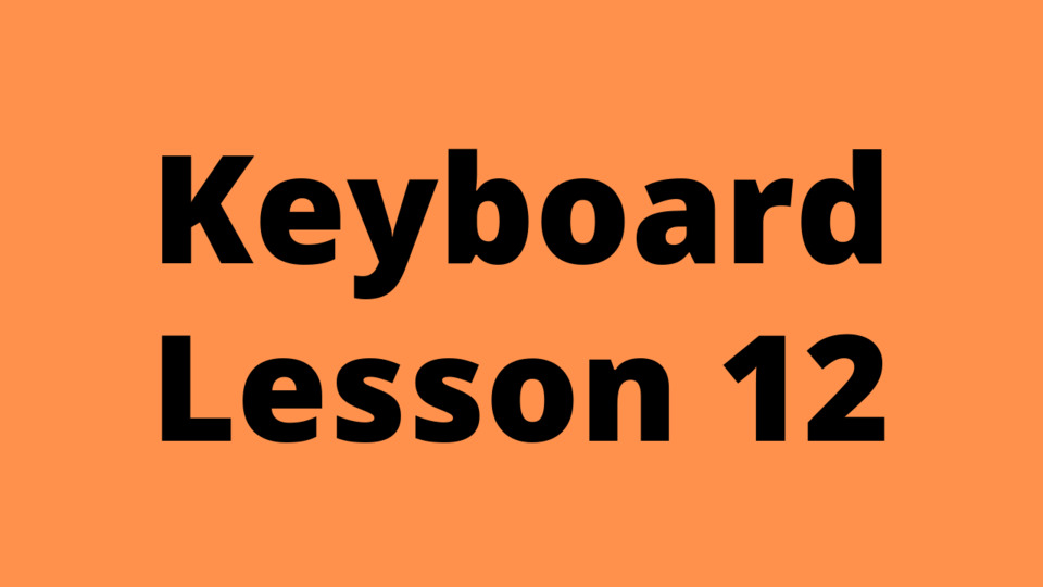 Keyboard Lesson 12: C# major chord cycle and alankaar with chords