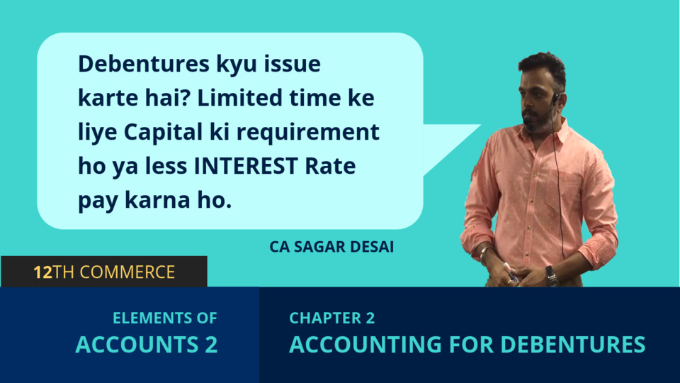 Chapter 2: Accounting for Debentures