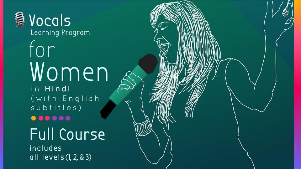 Vocal Learning Program for Women