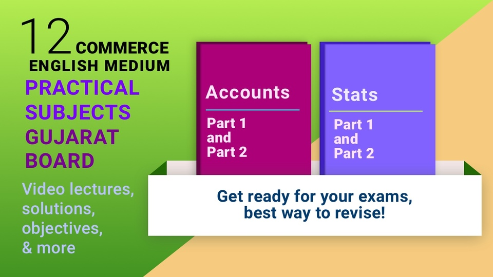 12th Accounts & Statistics (Full Practical Subjects Pack)