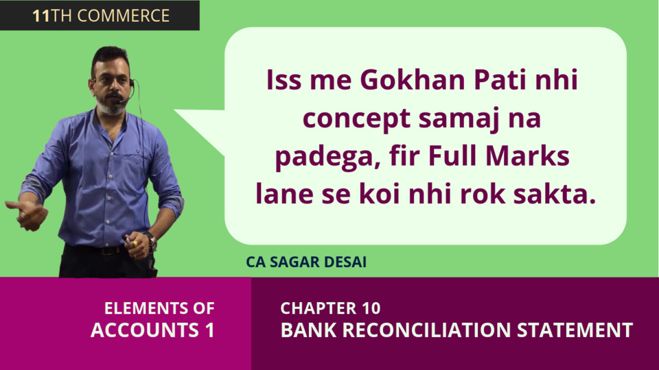 Chapter 10: Bank Reconciliation Statement