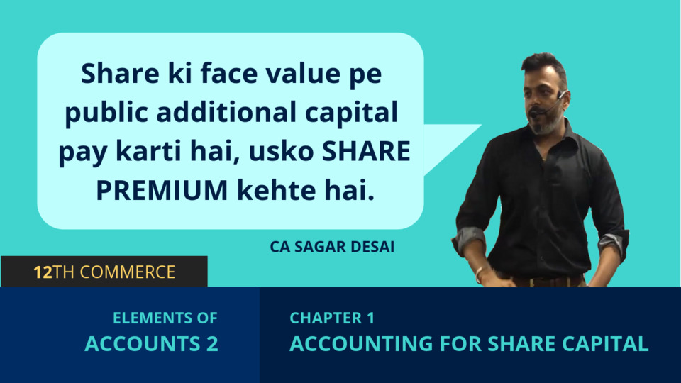 Chapter 1: Accounting for Share Capital