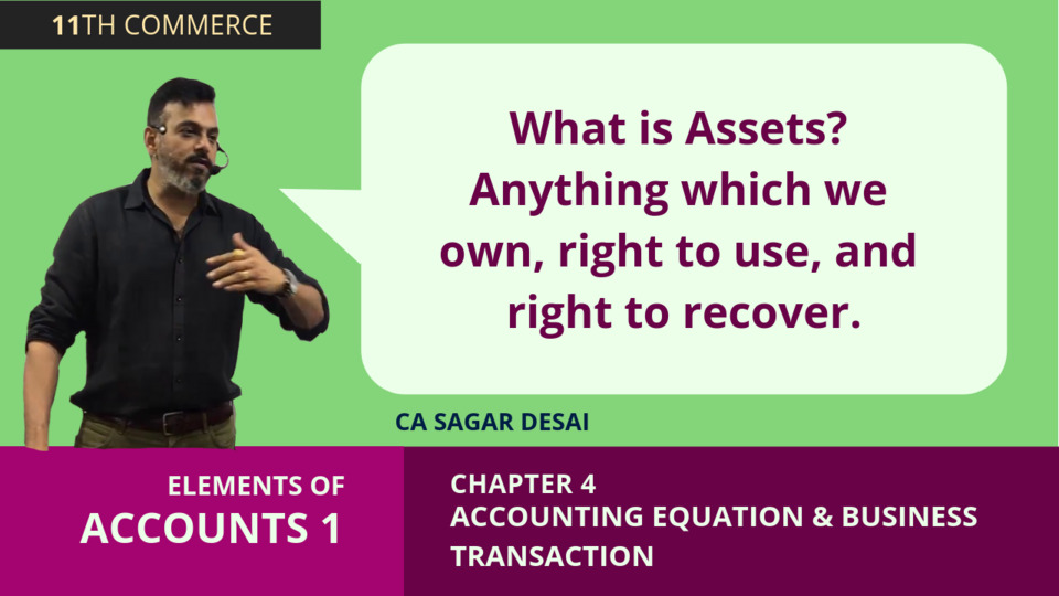 Chapter 4: Accounting Equation