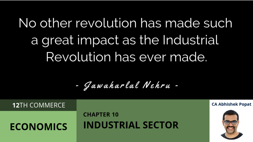 Chapter 10: Industrial Sector