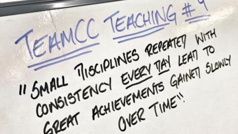 26. TeamCC Teaching Number 9.