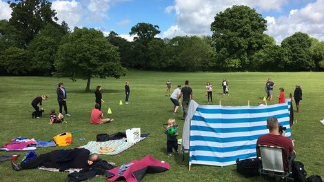 82. TEAMCC PICNIC AT UPTON COUNTRY HOUSE