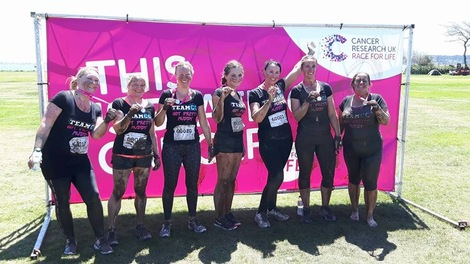 89. TEAMCC GOT PRETTY MUDDY TO KICK CANCER'S BUTT