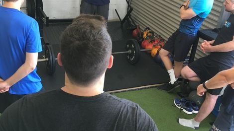 101. TERRY HOLLANDS AT THE CONDITIONING CENTRE