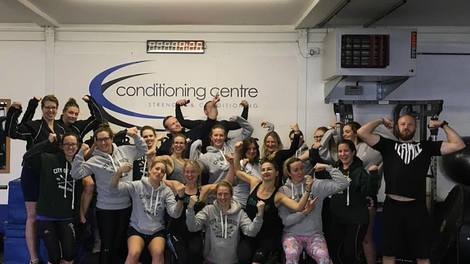 108. BRISTOL ROWING LADIES AT THE CONDITIONING CENTRE