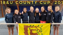 Berkshire girls 18u county cup team