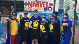 Superhero sportsday