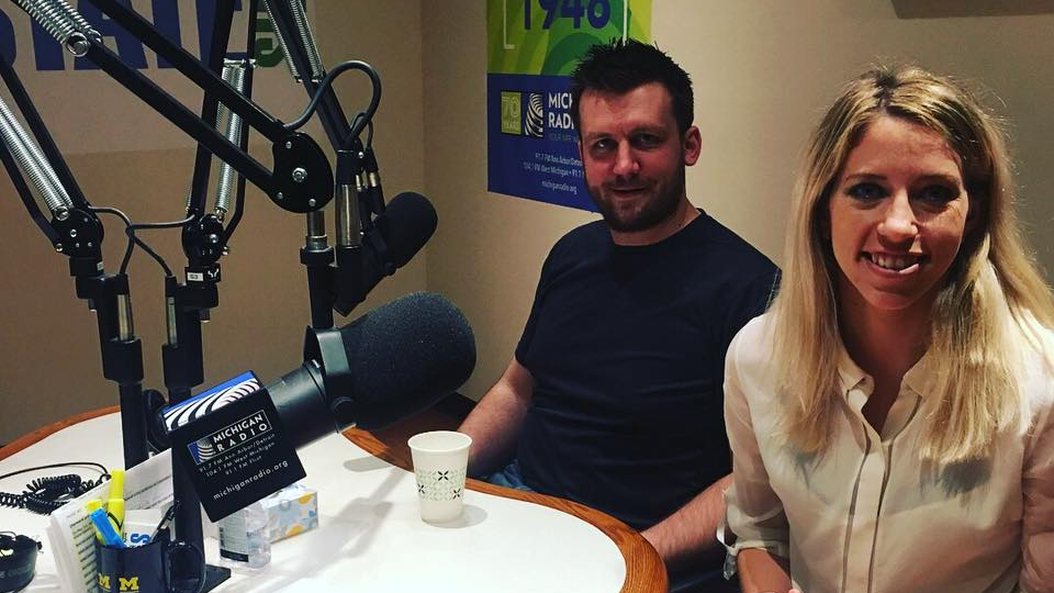 Kevin and Sarah on Stateside radio