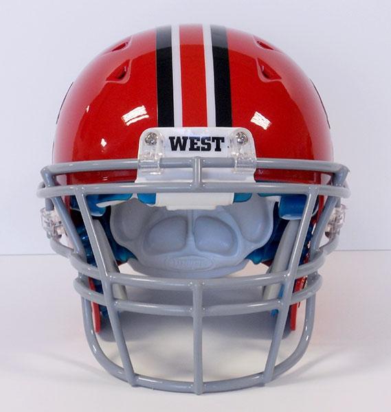Football Helmet Sticker Designs : Football helmet stripe decals team fitz graphics