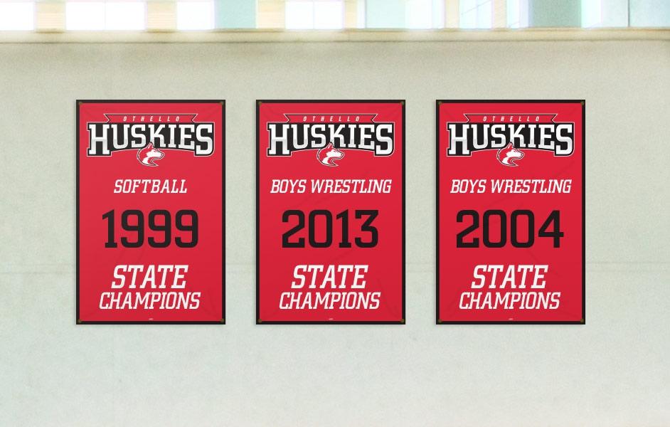 Championship Banners Team Fitz Graphics