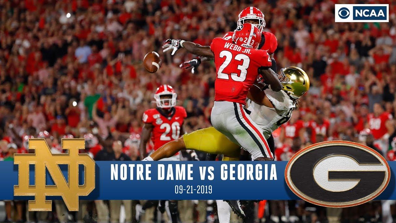 Notre Dame vs. Georgia Recap: No.3 Bulldogs Survive Late ...