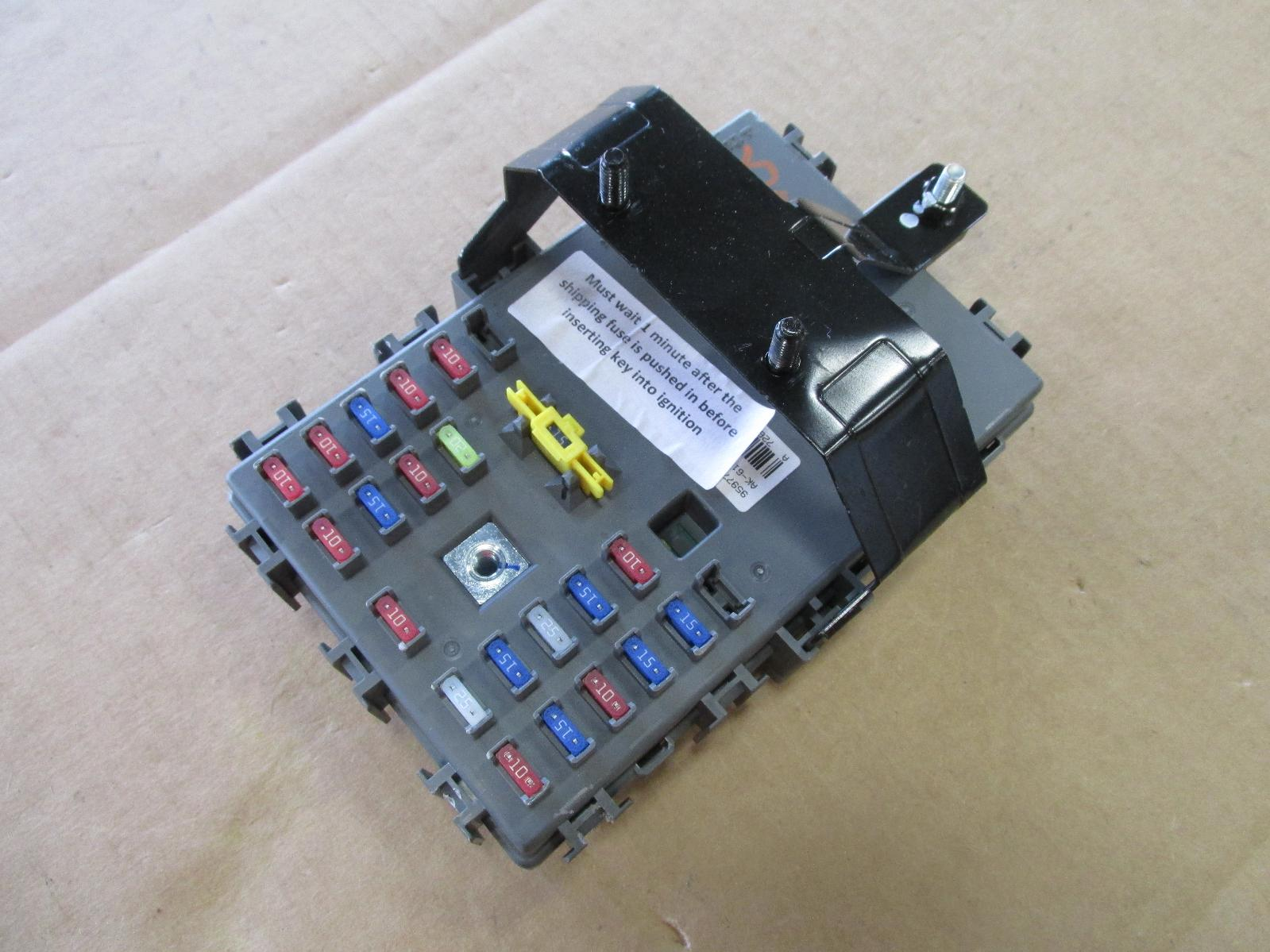 2011 chevy aveo fuse junction box 95977268 oem | ebay 2005 chevy aveo fuse box