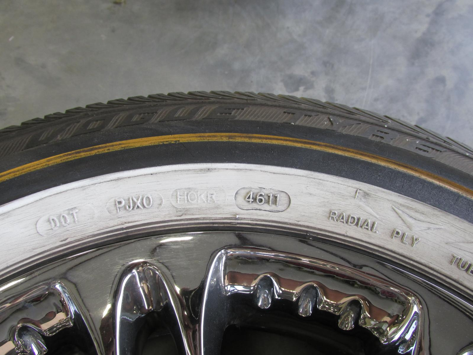 Vogue Rio Wheels With Tires 16 Quot 16 Inch Cadillac Deville