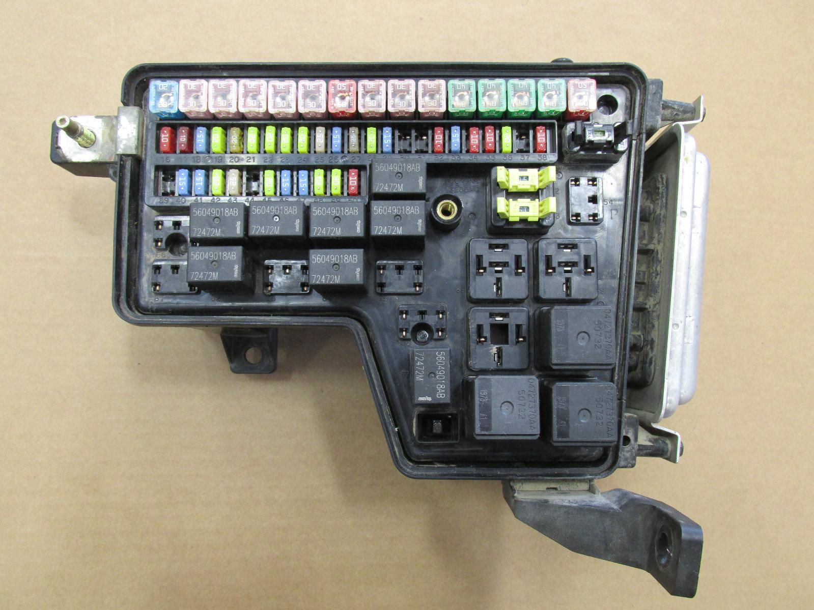 fuse box 2004 dodge ram 1500 2003 2004 2005 dodge ram 4.7l 1500 integrated power ... dodge fuse box 2004 #2