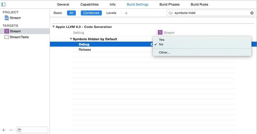 Add a test target- Fix linking error