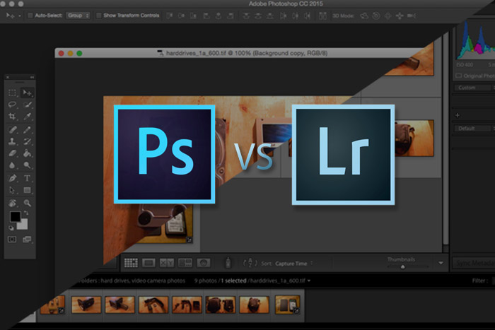 Photoshop vs Lightroom for Small Business