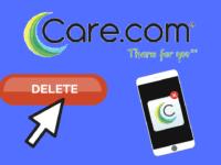 How to Delete a Care.com Account header