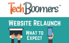 TechBoomers site relaunch banner (large)