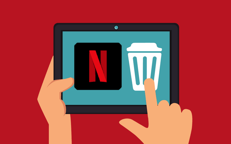 How to Delete a Netflix Account header