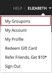 redeem groupon gift card