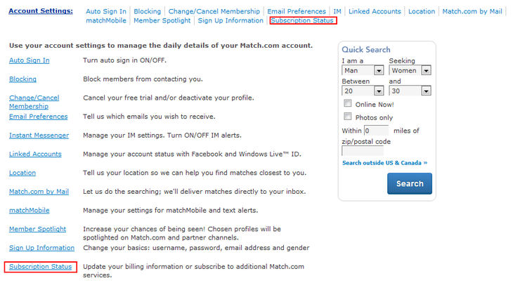 How To Change Username On Match.com