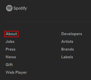 how to get account detail spotify