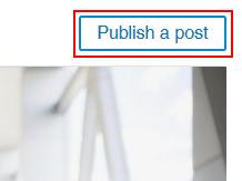 Publish LinkedIn pulse article button