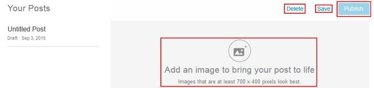 Confirm publishing LinkedIn pulse post