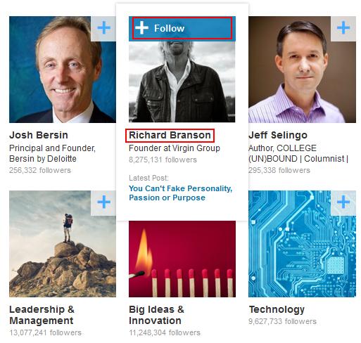 Follow from LinkedIn pulse