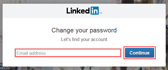 Find LinkedIn account