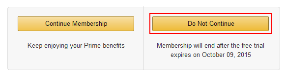 how to cancel prime membership order in amazon