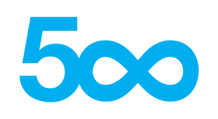 Flickr alternative - 500px logo