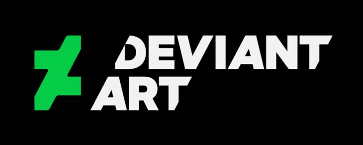 Flickr alternative - Deviantart logo
