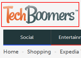 Techboomers logo - link to home page
